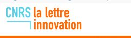 """M-CUBE in """"La LETTRE INNOVATION"""" published by CNRS"""
