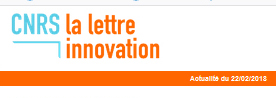 "M-CUBE in ""La LETTRE INNOVATION"" published by CNRS"