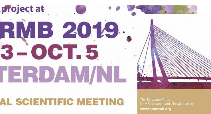 ESMRMB Congress 2018