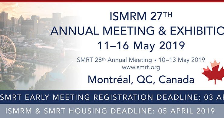 Two ISMRM 2019 Merit Awards