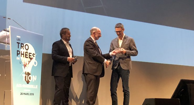 "Stefan Enoch Best Researcher's Prize at the 1st ""Trophées Innovation Aix-Marseille"""