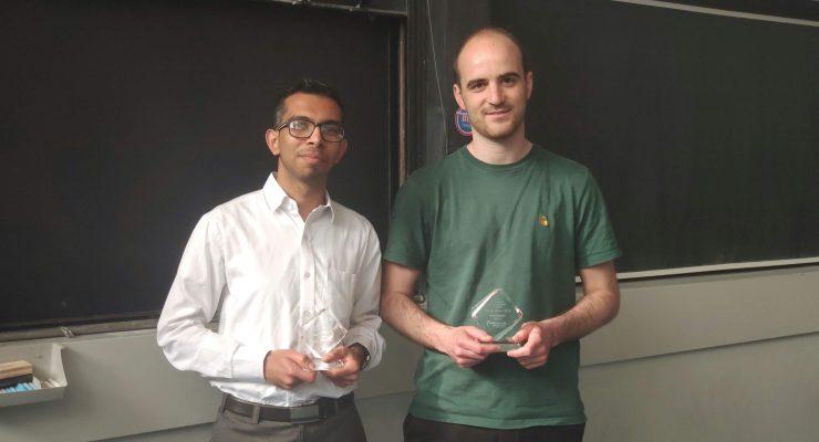 Thesis Award for Kaizad Rustomji
