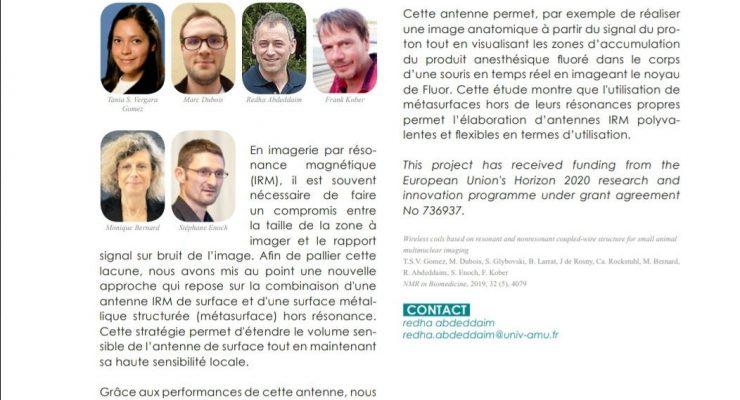 "Article in ""La Lettre d'AMU"""