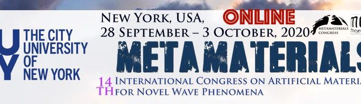 M-Cube at METAMATERIALS 2020 online conference