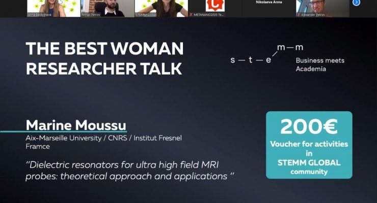 Marine Moussu STEMM Prize